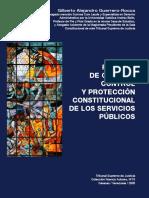 RÉGIMEN DE GESTIÓN, CONTROL Y PROTECCIÓN CONSTITUCIONAL DE LOS SERVICIOS PÚBLICOS - Gilberto A. Guerrero-Rocca