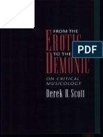 From the Erotic to the Demonic-On Critical Musicology