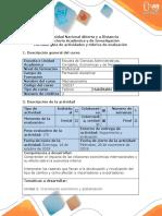 Guia de Actividades y Rubrica de Evaluación -Fase 3 Identificar Lo Que Se Conoce y No Se Conoce y Hacer Una Lista de Aquello Que Se Necesita Hacer Para Resolver El Problema
