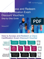 How to Access and Redeem Cisco Certification Exam Discount Vouchers