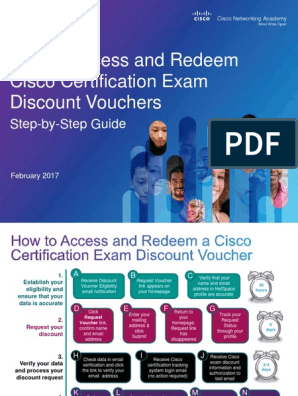 How to Access and Redeem Cisco Certification Exam Discount