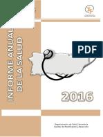 Informe de La Salud en Puerto Rico 2016