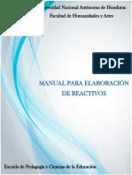 Manual Para Elaboracion de Reactivos