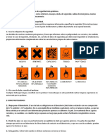 normas de seguridad para laboratorio de quimica