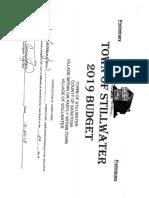 Stillwater preliminary budget