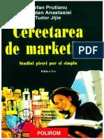 Cercetarea de marketing  - S. Prutianu