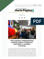 Boletín #5 Proiuris Página 1 | Octubre 2018