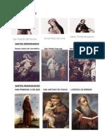 Imagenes de Santos Jesuitas Mercedarios Etc