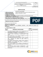 Lista Chequeo Unidad Productiva Produccion Cunicola