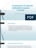 Fluid Mechanics of Internal Combustion Engines