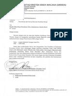 2. Surat Permohonan Ijin Survey Data Dan Penelitian Skripsi