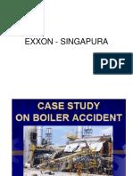 Caldeiras  Explosão EXXON