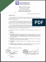 Reglamento Admision Pregrado Posgrado 2017