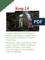 Hong Kong 2.0- En proceso