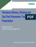 SIEMENS Industrial Wastewater Treatment Petroleum Refinery
