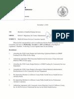 Jefferson County Legislature Health & Human Services Committee  Nov. 7, 2018