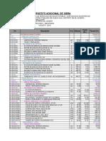 Ppto Excel Adicional