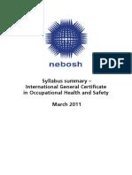 IGC syllabus summary.pdf