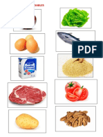 Alimentos Saludables y No Saludables