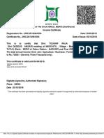 Certificate(10)