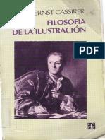 Cassirer Ernst Filosofia de La Ilustracion