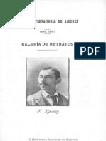 Revista Internacional de Ajedrez. 1-1896