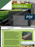 Vias Ferreas