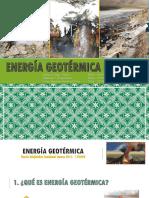 Energía Geotérmica Del Perú