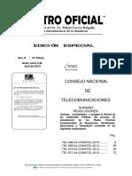 065 Plan Tecnico Fundamental de Transmision Ptft Ptfsi Ptfs Ptfn