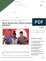 Alexa Moreno da a México primer medalla en gimnasia - La Jornada