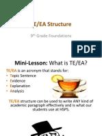 teea structure