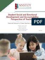 Social and Emotional Development Accountability