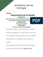 El Nacimiento de Las Tortugas