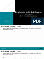 How to scale a distributed system Presentation.pdf