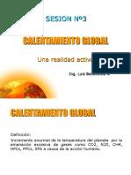 Sesión 3- Calentamiento Global