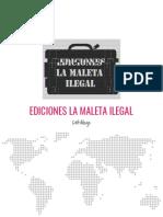 Catálogo - Ediciones La Maleta Ilegal