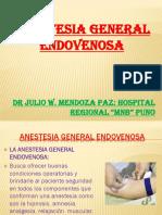 Diapositivas de Anestesicos Endovenosos