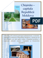 Chișinău-capitala Republicii Moldova