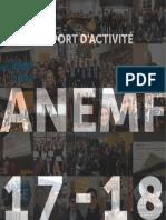 Rapport d'activité - ANEMF - 2017-2018