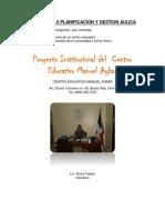 Acividades II Planificacion y Gestion Aulica