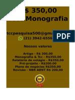 Tcc & Monografia Por 349,99 Whatsapp (21) 974111465 Editoracaoservicos@Gmail.com(4)