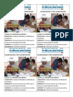 Alfabetización y Post Alfabetización1