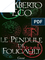 Le pendule de Foucault - Umberto Eco.epub