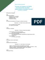 Programa I Seminário Da Diabetes Da ADDG