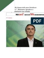 Brasil y Chile Tienen Todo Para Fortalecer Sus Relaciones