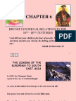 Chapter 6 (Brunei's External Relations In The 16th - 18th Century)