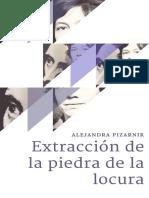 Portada Alejandra Pizarnik - Extracción de la piedra de la locura