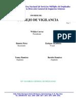 Informe Del Consejo de Vigilancia 2013 y 2014 1