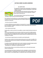 GUIA DE LECTURA VALORES