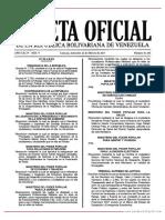 GO 41101 Reglamento de La Ley Del Estatuto de La Función Policial en Materia de Administración de Personal y Desarrollo de La Carrera Policial